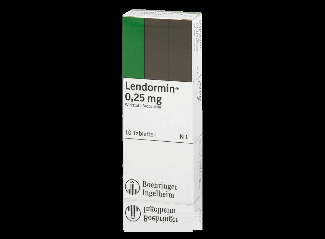 Packungsbild Lendormin®